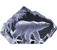 Mats Jonasson® Arctic Wildlife Crystal Sculptures
