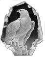Mats Jonasson® Birds of Prey Crystal Sculptures