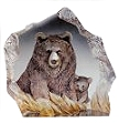 Mats Jonasson® Bears Crystal Sculptures