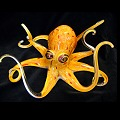 Soul Glass Octopus Glass Sculptures