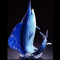 Soul Glass Salt Water Fish Glass Sculptures