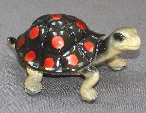 Black-Red Turtle Baby by Barry Stein