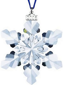 2008 Swarovski Annual Edition Ornament - Retired