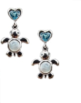 Artistica Baby Turtle Cuddles Pierced Earrings