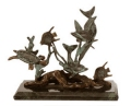 Sea Treasures Bronze Sealife Sculpture Group