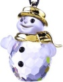 Swarovski Classic Snowman Gold Plated - Retired