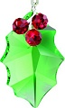 Holly Leaf Ornament, Swarovski