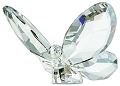 Butterfly Silver Shade Swarovski Crystal - Archived Data