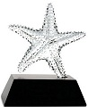 Sea Star (Starfish) Glass Sculpture - Special order