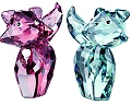 Pierre and Marie - Swarovski Lovelots House of Cats - Park Hills