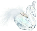 Swarovski Crystal Winter Swan