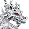 2012 Swarovski Year of the Dragon SCS Crystal Pendant - Retired