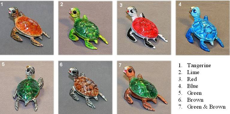 bronze sea turtles sculptures by barry stein crystal fox gallery