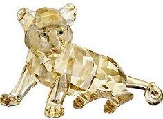 bb65e5d0300 2010 SCS Sitting Tiger Cub (Swarovski) - Crystal-Fox Gallery