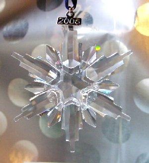 2006 Swarovski Annual Edition Star Snowflake Ornament (Swarovski ...