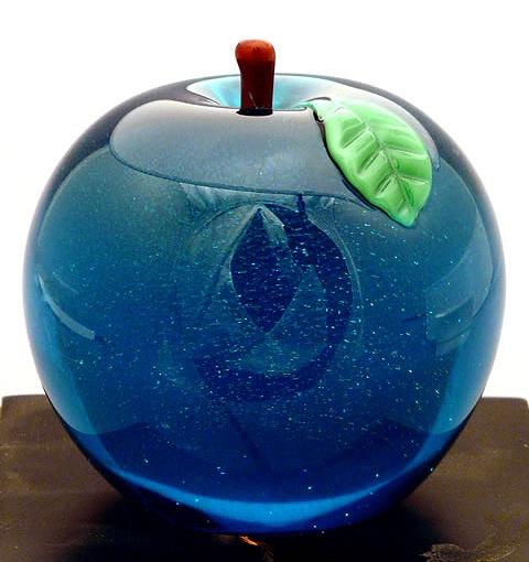 Glasses Apple Apple Sapphire Glass