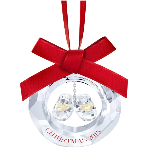 93ee457de Baby's First Christmas Ornament, 2015 (Swarovski) - Crystal-Fox Gallery