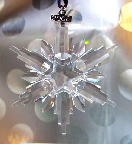 2006 Swarovski Annual Edition Star Snowflake Ornament - 2006 Swarovski Annual Edition Star Snowflake Ornament (Swarovski