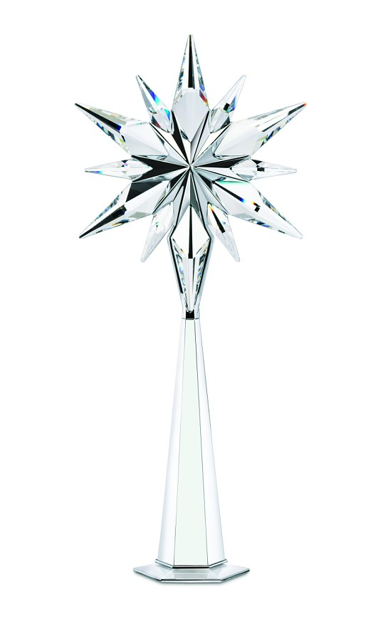 2006 rockefeller star tree topper swarovski crystal archived data
