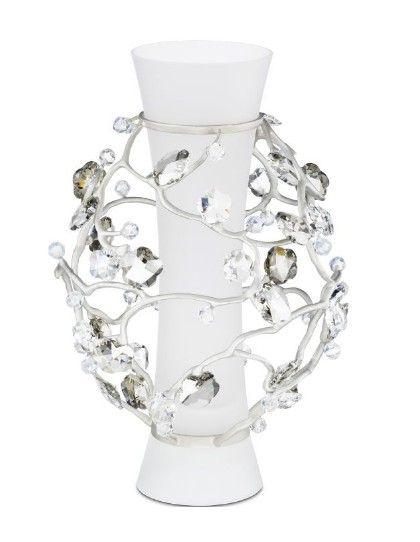 Swarovski Blossom Vase Crystal 2008 Retirement Swarovski