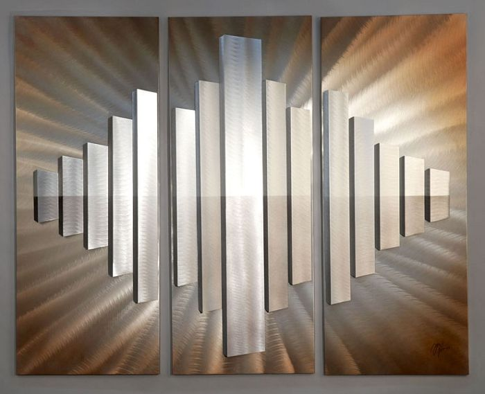 Gallery Of Sunburst City Wall Panel Set With Modern Wall Paneling Designs.