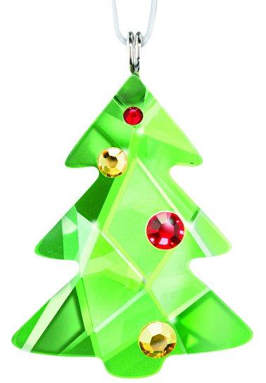 Swarovski Festive Christmas Tree Ornament - Swarovski Festive Christmas Tree Ornament (Swarovski) - Crystal-Fox