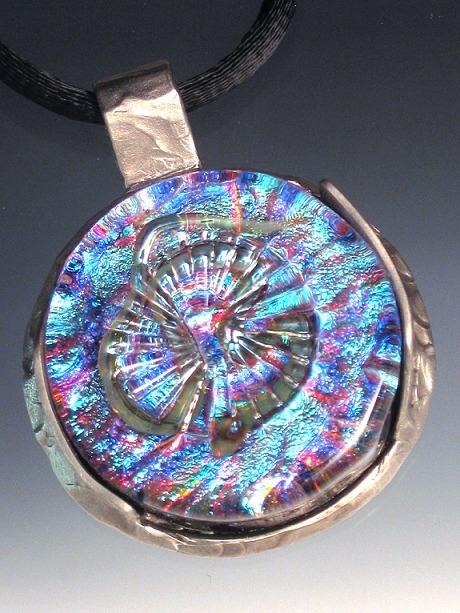 Dee janssen glassworks art glass jewelry pendants necklaces geo aloadofball Choice Image