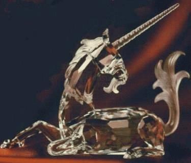 00d0388d2 ... Swarovski Collectors Society Annual Edition 1996 Unicorn Retired. SCS  ...